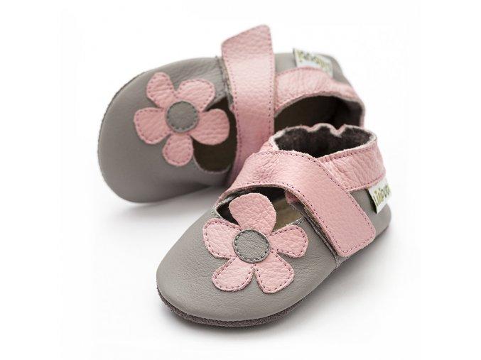 liliputi soft baby sandals kalahari grey 2721