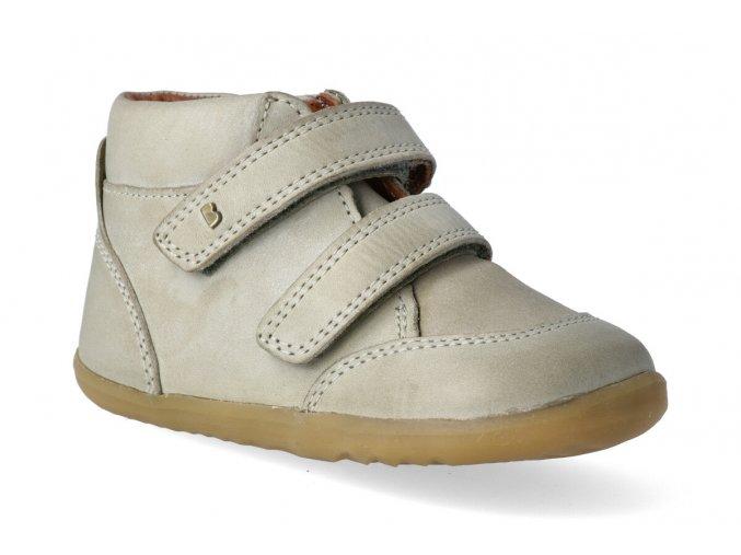 kotnikova obuv bobux timber boot vintage olive step up 2