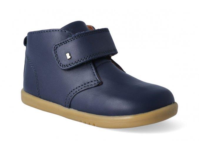 kotnikova obuv bobux desert boot navy 2