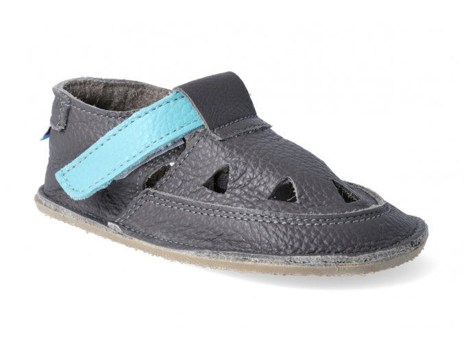 baby bare shoes io blue beetle 2 3
