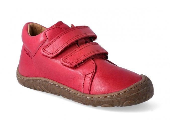 barefoot kotnikova obuv froddo barefoot red 3