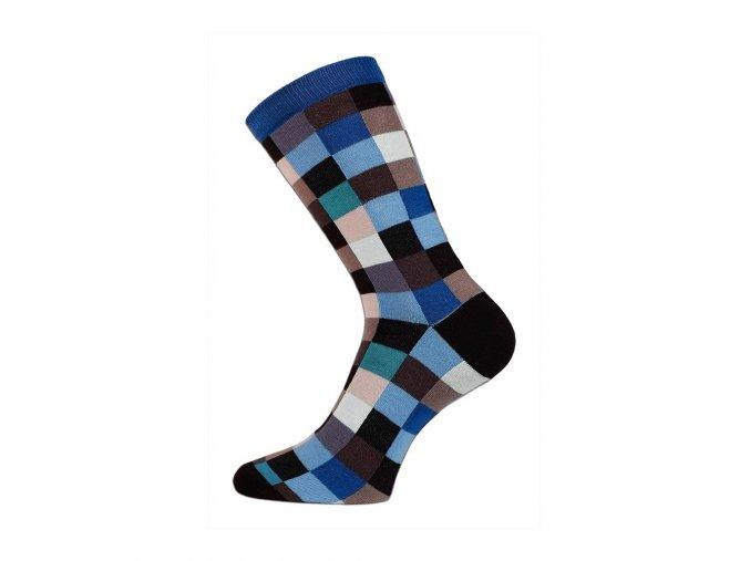 ponozky trepon kostka modra