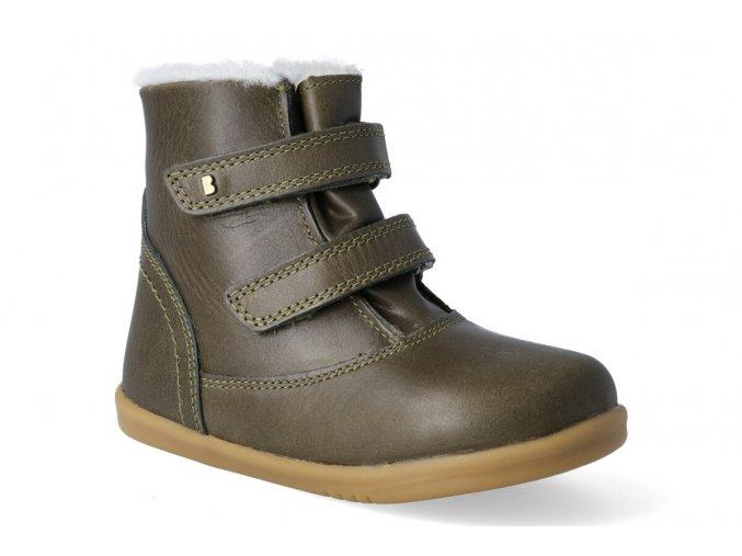 zimni obuv bobux aspen boot olive 3