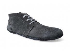 kotnikova barefoot obuv be lenka celorocni grey 3