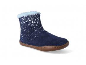 barefoot zimni obuv camper tws afelpado blue 2