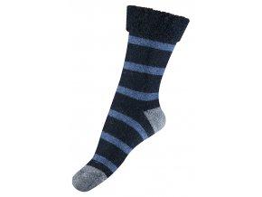 Ponožky Move by Melton - vlněné Terry Knit Marine