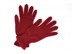 rukavice surtex merino cervene 1