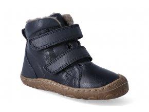 zimni obuv froddo barefoot dark blue 2