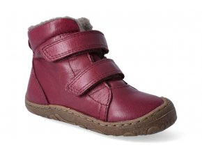 zimni obuv froddo barefoot wool bordeaux 3