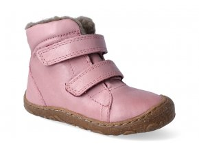 zimni obuv froddo barefoot wool pink 2