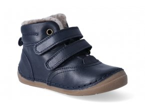 zimni obuv froddo flexible sheepskin dark blue 2