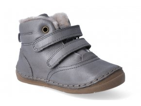 zimni obuv froddo flexible sheepskin grey 2