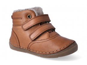 zimni obuv froddo flexible sheepskin cognac 2