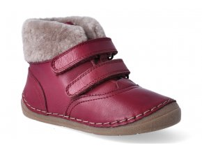 zimni obuv froddo flexible sheepskin girl bordeaux 3