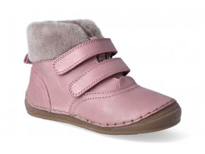 zimni obuv froddo flexible sheepskin girl pink 2