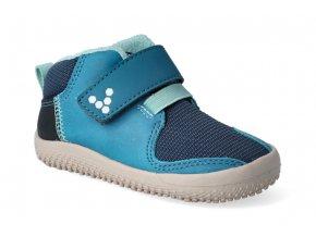 barefoot kotnikova obuv vivobarefoot primus bootie k indigo 2