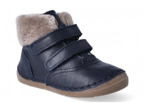 zimni obuv froddo flexible sheepskin girl dark blue 3