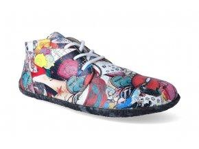 kotnikova barefoot obuv be lenka celorocni colored crushed comics 2