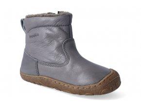 zimni obuv froddo barefoot chelsea wool grey 3