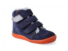 Barefoot zimní obuv s membránou Beda Blue Mandarine 2