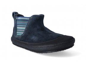 barefoot zimni obuv sole runner portia blue black 3