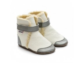 liliputi soft soled booties crystal 3583