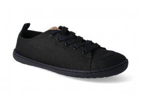barefoot tenisky mukishoes low cut onyx 3