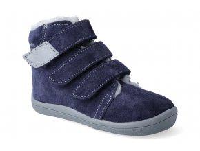 barefoot zimni obuv s membranou beda lucas 3