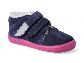 barefoot zimni kotnikova obuv s membranou beda elisha 3