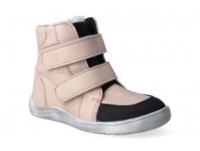 barefoot zimni obuv s membranou baby bare febo winter nude asfaltico 3