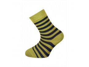 Dětské bambusové ponožky Babar zelené