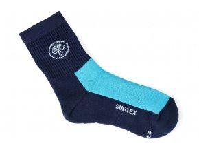 ponozky surtex active 80 merino modre pro dospele 1
