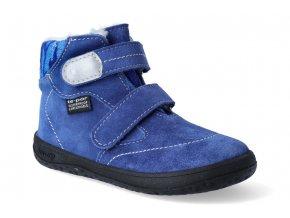 barefoot zimni obuv s membranou jonap b5 modra 2