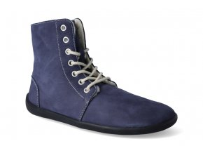 zimni barefoot obuv be lenka winter navy 2