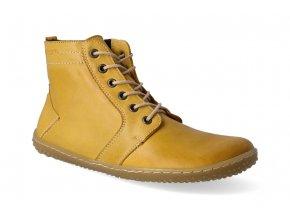 zateplena barefoot obuv okbarefoot devon yellow 3