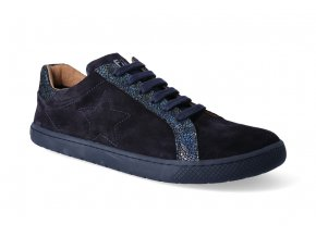 barefoot tenisky filii adult sneakers everyday velours ocean 2