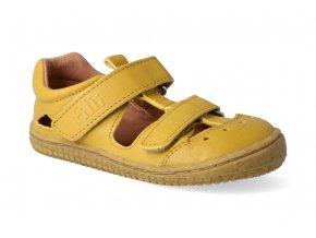 barefoot sandalky filii bio kaiman nappa lemon m 2