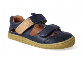 barefoot sandalky filii kaiman bio nappa ocean w 3