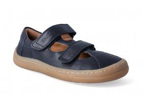 barefoot sandalky froddo bf dark blue 2