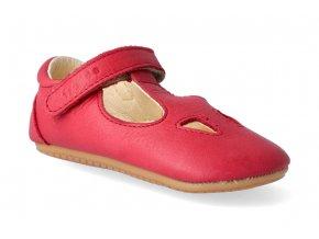 barefoot sandalky froddo prewalkers red 4