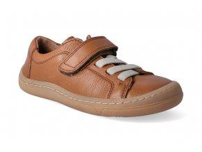 barefoot tenisky froddo bf brown tkanicka 2