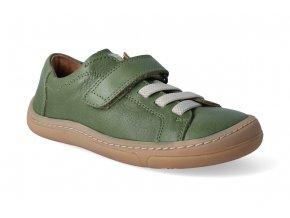 barefoot tenisky froddo bf dark green tkanicka 2