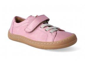 barefoot tenisky froddo bf pink tkanicka 2