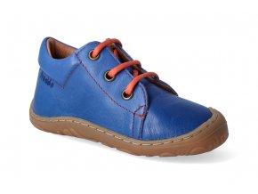 barefoot celorocni obuv froddo narrow blue electric tkanicka 2