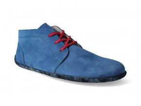 kotnikova barefoot obuv be lenka celorocni deep blue 2