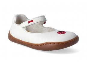 barefoot baleriny camper tws sella clara firstwalkers ladybugs beige 2