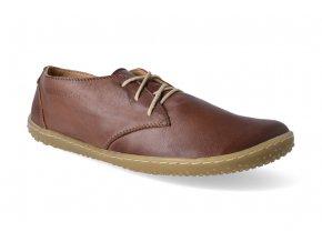barefoot polobotky okbarefoot liberty brown 3