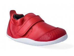 barefoot capacky bobux xplorer go trainer red 3