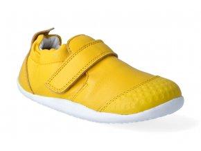 barefoot capacky bobux xplorer go trainer lemon 2