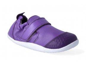 barefoot capacky bobux xplorer go trainer violet 3